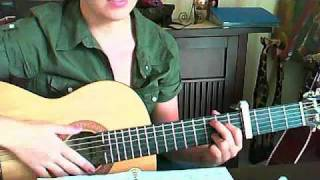 The Fray, you found me, Tutorial, how to play, guitar, gitarre, acoustic