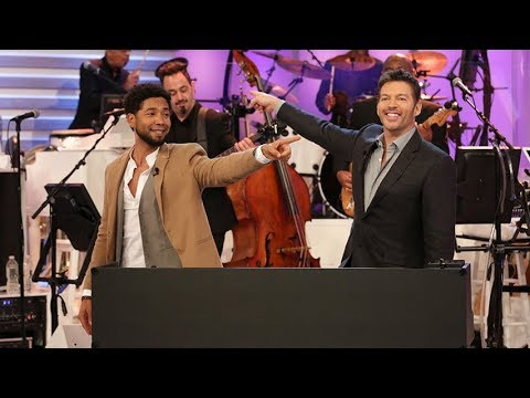 Jussie Smollett and Harry's 60 Second Song