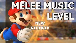 Mew2King gets World Record on Melee Music Level - Super Mario Maker