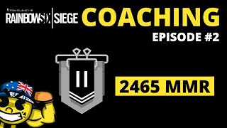 Coaching A Silver 2 (2465 MMR) - R6 Analysis