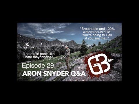EPISODE Aron Snyder Q&A