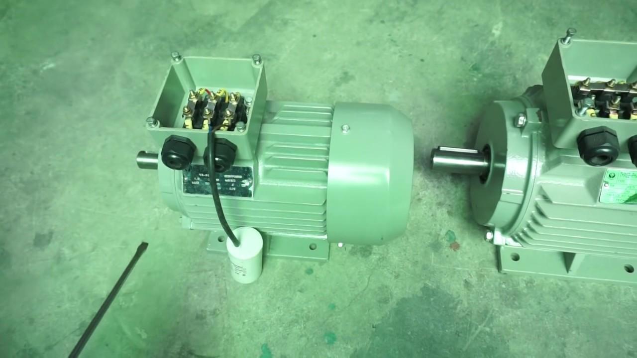 Động cơ điện 3 pha đấu thành 1 pha, 0901460163