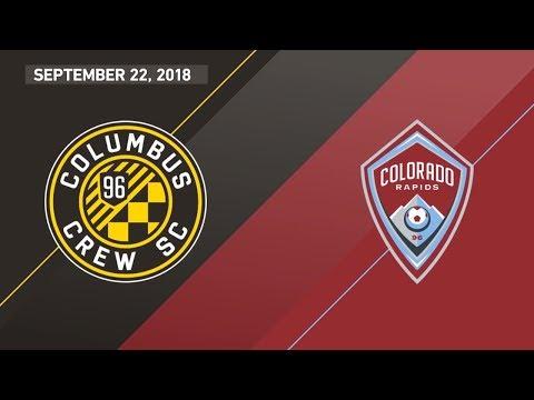 HIGHLIGHTS: Columbus Crew SC vs. Colorado Rapids | September 22, 2018
