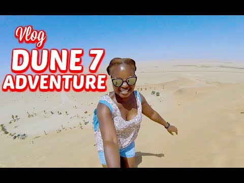 Going up Dune 7 in Walvis Bay Namibia - Road Trip Day 6 || Mommy and Bay Approved || SA Vlogger