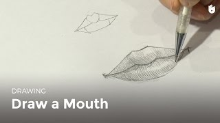 Draw a mouth