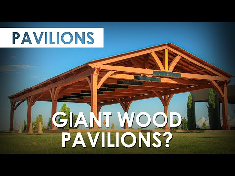 Giant Wood Pavilions? Check this one out...