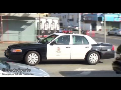 Lapd Crown Victoria Police Car Youtube