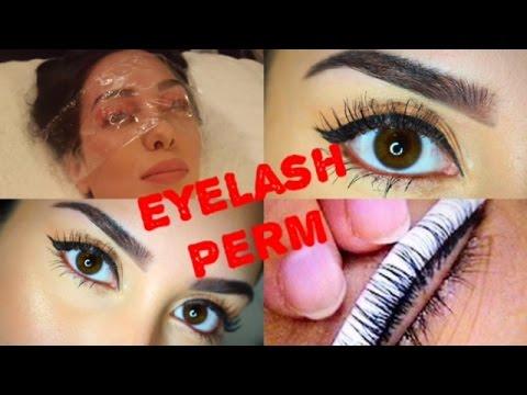 Permanently curled lashes my eyelash perm experience youtube my eyelash perm experience solutioingenieria Images