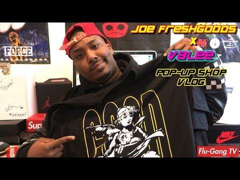 Valee x Joe FreshGoods Pop-Up Vlog