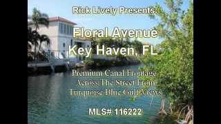 FLORIDA REAL ESTATE: Real Estate Florida Keys -- Floral Avenue, Key Haven - Rick Lively