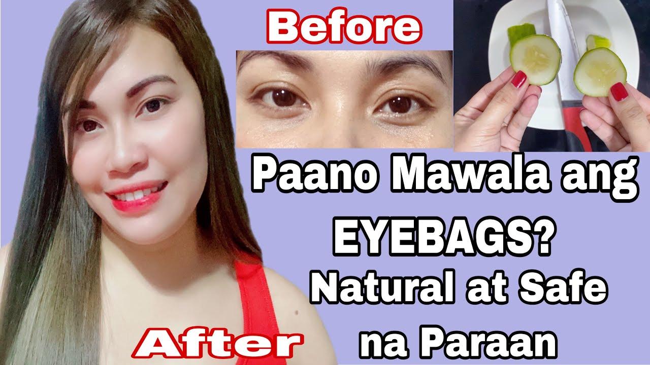 PAANO MAWALA ANG EYEBAGS? Mura at NATURAL NA Pipino mabisang pangtangal eyebags | Blush Rivera