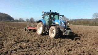Heavy-duty Ploughing and Discing - and the Dog!