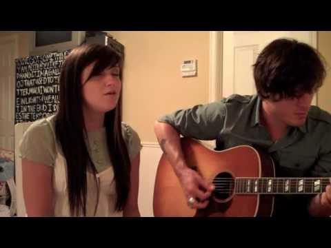"Catie Wilson and Andy Davis performing ""Shadowfeet..."