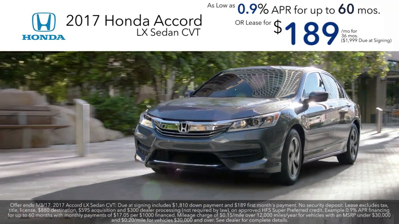 Honda 0 Apr 2017 Accord 2016 Cr V Leases Used Cars Service Washington Dc Dealer Md
