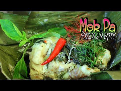 Mok Pa - Papillotes de poisson à la laotienne - Le Riz Jaune