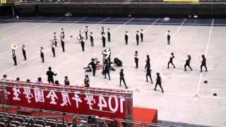 20160309 全國音樂比賽行進管樂 滬江高中