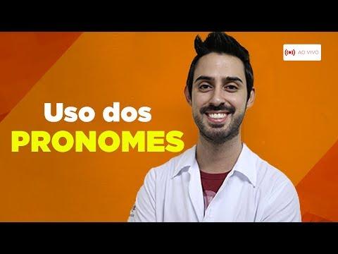 Uso dos Pronomes: aprenda de um jeito fácil | Aula ao Vivo