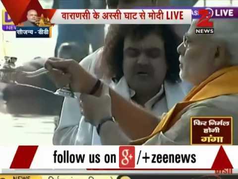 PM Narendra Modi performs Ganga puja in Varanasi