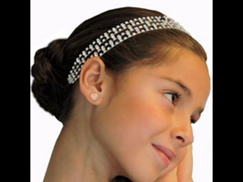 Peinado Facil Para Fiesta Con Diadema De Cristal Easy Hairdo With