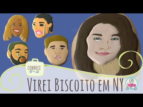 Desafio do Biscoito em NY Ivana coelho
