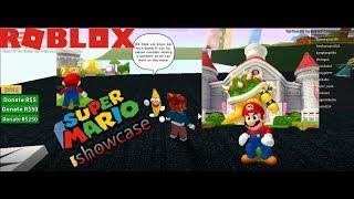 roblox mario showcase
