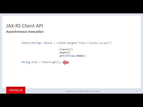REST in an Async world - JAX-RS Client API, Synchronous vs. Asynchronous, Client-Side vs Server-Side