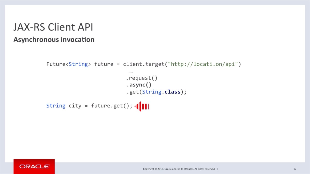 Rest In An Async World Jax Rs Client Api Synchronous Vs