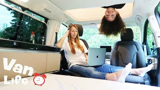 FAMILY VAN LIFE!! Living In A Tiny House For 24 HOURS