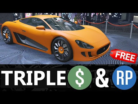 GTA 5 - Event Week - TRIPLE MONEY & Discounts (Property & Vehicle)