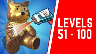 Laser Clean 3D Game Walkthrough Level 51-100