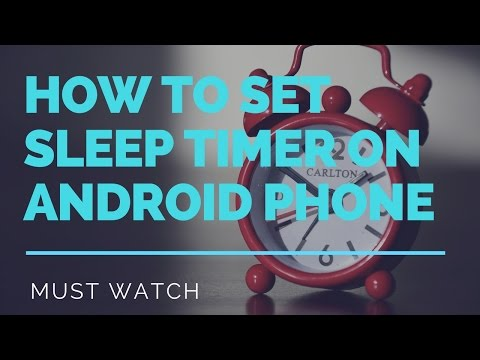 How To Set Sleep Timer On Android Phone [[ Hindi ]]