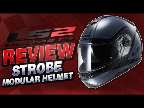 LS2 Strobe Modular Helmet Review from Sportbiketrackgear.com