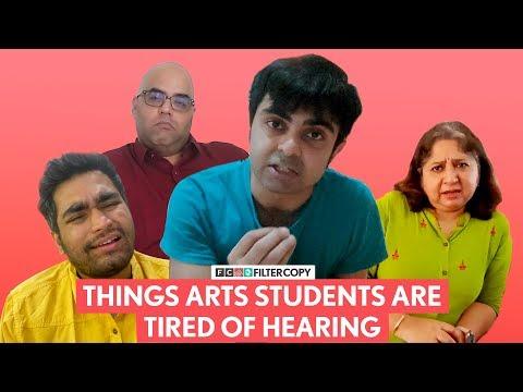 FilterCopy | Things Arts Students Are Tired Of Hearing | Ft. Akashdeep Arora And Viraj Ghelani