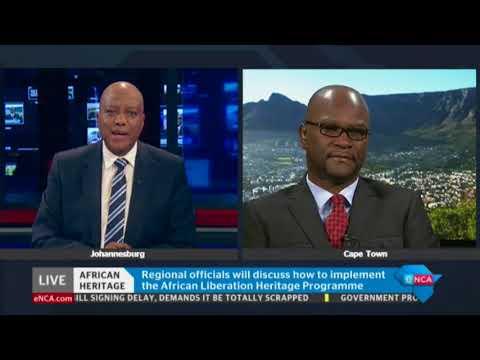 Nathi Mthethwa on on African liberation heritage roundtable
