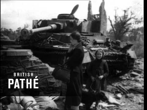 Allies Surge Across Normandy (1944)