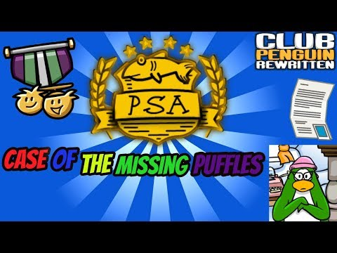Case Of The Missing Puffles!- PSA Mission Guide #1- Club Penguin Rewritten