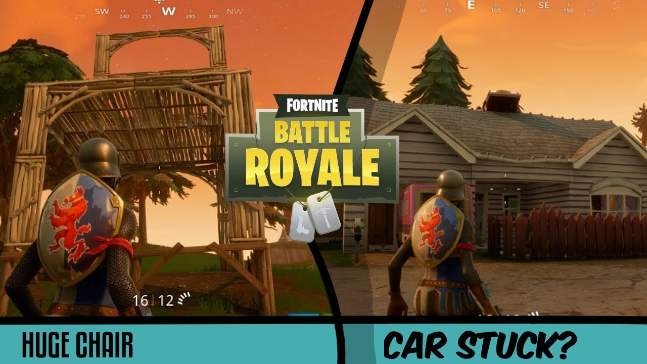 New map huge chair fortnite battle royale youtube for Chair in fortnite
