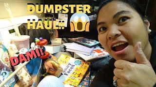 BUHAY AMERIKA DUMPSTER DIVING!!:D  FIL-AM FAMILY VLOG