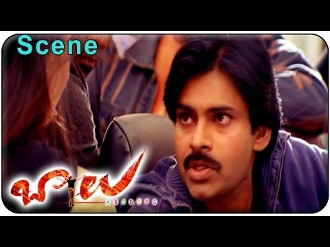 Balu Movie    Beautiful Love Scene Between  Pawan kalyan & Neha Oberoi