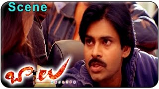Balu Movie || Beautiful Love Scene Between  Pawan kalyan & Neha Oberoi