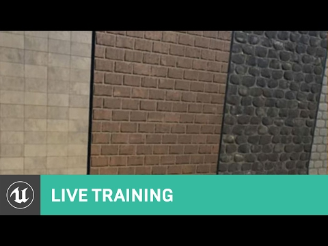 Creating Semi Procedural Materials   Live Training   Unreal Engine