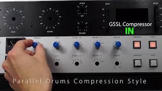 gssl diy kit gyraf design ssl bus compressor clone from mic mod