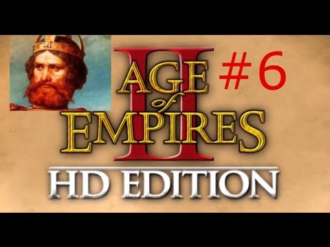 Age of Empires II HD w/ Arrancar Barbarossa Campaign #6 Cathedral