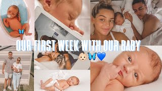 OUR FIRST WEEK WITH OUR BABY \u0026 WEEK 40 OF PREGNANCY | Liv Guy