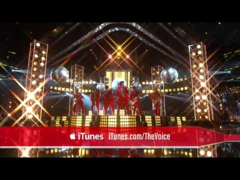 Bruno Mars - Treasure Live on The Voice