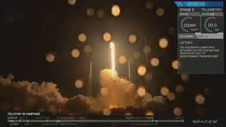 SpaceX Launches New Communications Satellite, Sticks Rocket Landing