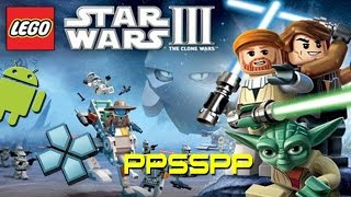 PPSSPP Emulator - Lego Star Wars 3: The Clone Wars (PSP) on ANDROID