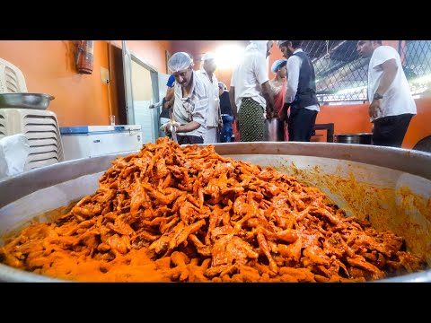 1,200 Fried Chickens!! GIANT INDIAN FOOD Wedding for 3,000 People! | Kerala, India!