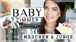 BABYZIMMER EINRICHTEN   Junge & Mädchen   Dekoration   H&M Home Ikea Haul   Jucepauline