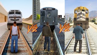 GTA SA VS GTA IV VS GTA V